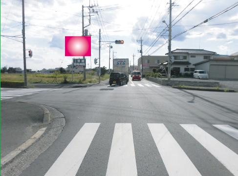 茨城県五霞町・県道267号線ミニストップ交差点