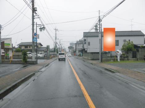 東松山市・県道66号線本町1丁目交差点手前