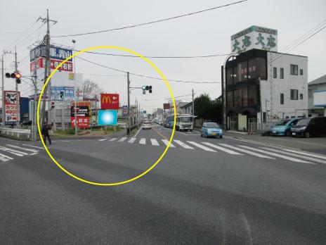 岩槻区・ 16号線岩槻駅入口交差点