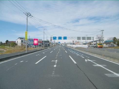 加須市・国道125号・南篠崎交差点先