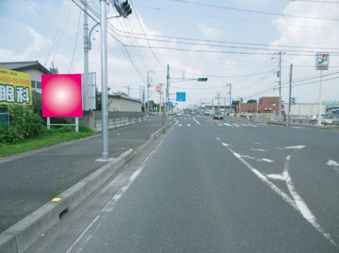 加須市・国道152号線・南篠崎交差点手前