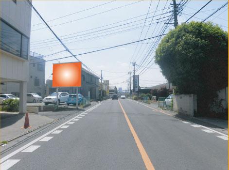 見沼区・さいたま春日部線大和田町丸亀製麺付近