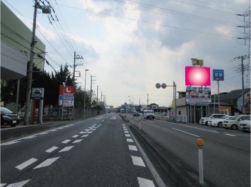 狭山市・R16号新狭山1丁目交差点手前(上段)